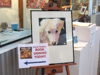 Book signing at River District Arts, Sperryville, VA. 2/16/2013